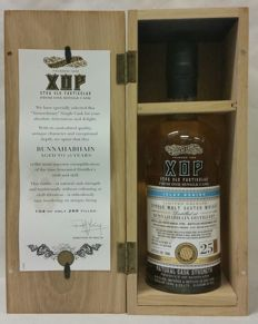 Bunnahabhain 25 years old - vintage 1990 / bottled in 2015 - Douglas Laing's XOP limited release - Bottle No. 104 of 269