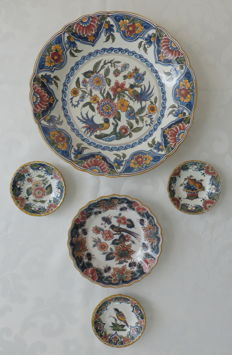 Altena Makkum - Five wall plates