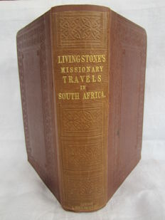 David Livingstone - Missionary Travels and Researches in South Africa Including a Sketch of Sixteen Years in the Interior of Africa - 1857