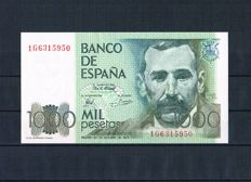 Spain - Collection of 20 banknotes from Spain