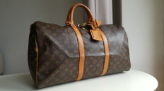 Louis Vuitton - Keepall 50 Borsa da viaggio