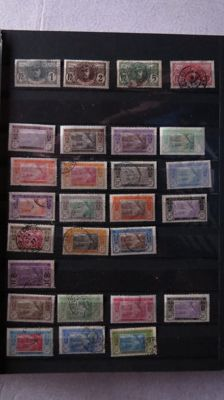 Former French colonies 1892/1970 - collection of stamps