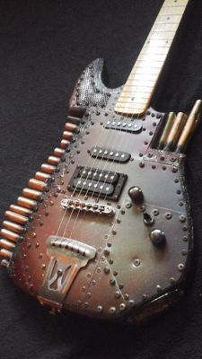 Mika Custom Steamdiesel Guitar