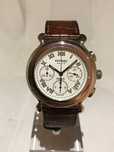 Hermès Kepler Chronograph Automatic Men's Watch from 2015 Like New