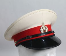 British Peaked Cap of the Royal Marines