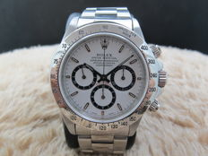 "1993 ROLEX DAYTONA 16520 ORIGINAL WHITE ""INVERTED 6"" DIAL (ZENITH)"