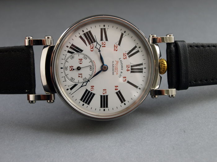 11. Helvetia men's marriage wristwatch 1910-1915