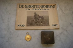 Victory Medal `the Great War for Civilisation 1914-1919 - C.L. van Langenhuysen - De Groote Oorlog in foto's - no.30 - 1917