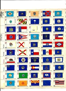 United States and the UN - Collection on Schaubeck album sheets and in stock book