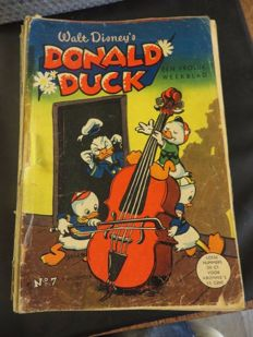Donald Duck Weekblad - 105 issues - 105xsc - 1st edition (1952/1955)