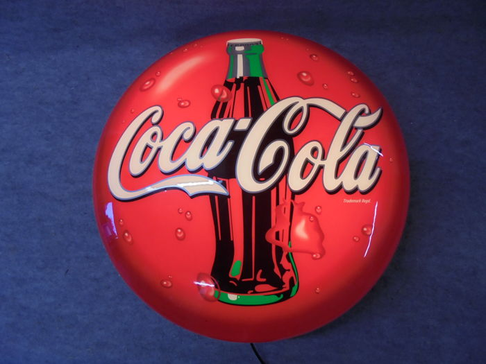 Coca-Cola wall lamp - late 20th century