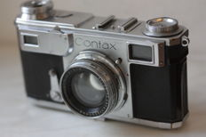 Contax (1938) with Carl Zeiss Jena Sonnar 1:2/50mm lens, Germany