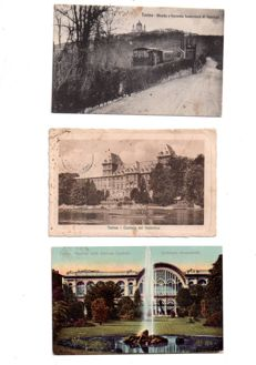 Italy: 90 postcards - Swiss: 54 old and semi-modern postcards