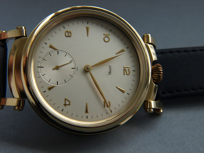 22. Birka men's marriage wristwatch 1934-1940