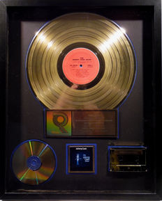 Johnny Cash - The Johnny Cash Show - real US RIAA Gold Award goldene Schallplatte - original Sales Music Record Award ( Golden Record )