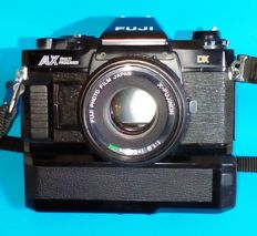Fujica AX Multiprogram with original Fujica winder