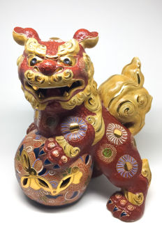 Ceramic Foo Dog - Japan - second half/late 20th century