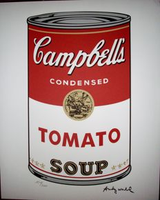 Tomato by Andy Warhol - Lithograph. Limited Edition