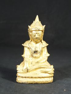 Crowned Buddha - Burma - mid/2nd half 20th century