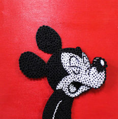 Alessandro Padovan (Drill Monkeys Art Duo) - MICKEY MOUSE SMALL