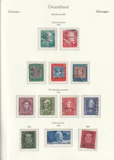 Federal Republic of Germany - 1949-1978 - Michel 2012 no. 111-989 complete collection!
