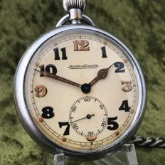 Jaeger-LeCoultre World War II military pocket watch - around 1940