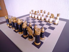 Chess figures Greece marble