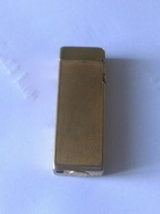 Gold plated Duhill lighter made in Switzerland