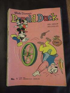 Donald Duck Weekblad - Complete year - 52xsc - 1st edition (1963)