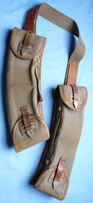 Original WW2 German Army Wehrmacht MG-13 Machine Gun Magazine Pouches