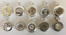 Ten pocket watches from the Atlas The Heritage collection