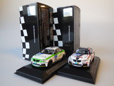 Minichamps - Scale1/43 - Lot with 2 x BMW M235i Racing 24h Nurburgring 2014