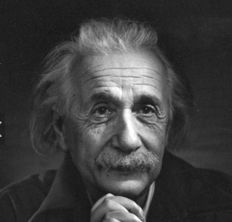 Yousuf Karsh - Albert Einstein, 1948