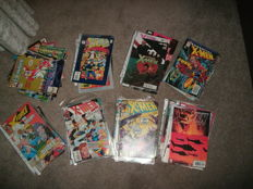 "Collection of x66 - Marvel Comics ""X"" Related Comics - Including X-Men / Excalibur"
