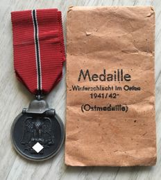 Winter Battle in the East Medal 1941/42