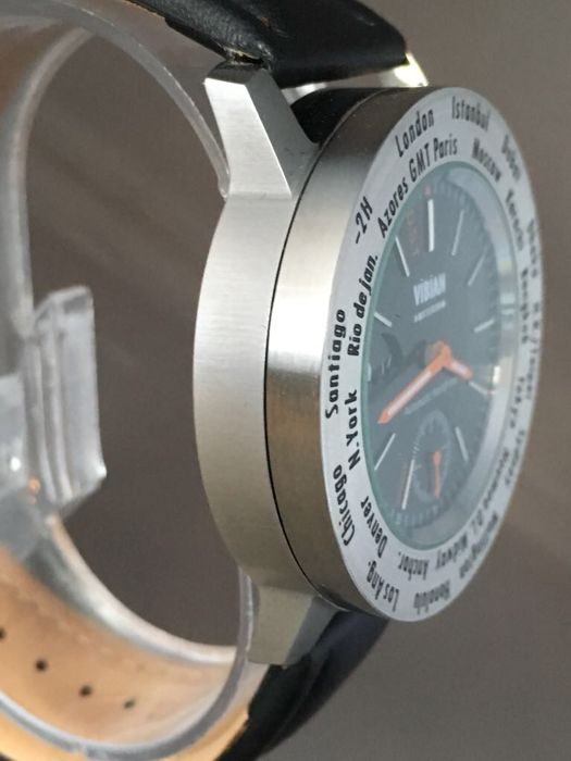 Vibian Amsterdam - Automatic World Time - Heren - 2011-heden