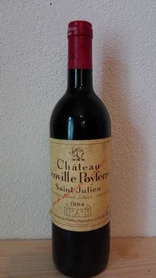 1984 Chateau Leoville Poyferre, Saint-Julien Grand Cru Classé - 1 bottle