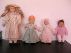 4 Dolls including Wildebras, Promenade Collection and Ashton Drake