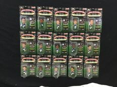 Football - 15 figurines from the French team 1997