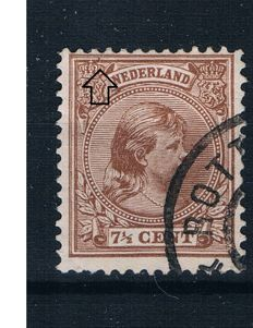 The Netherlands - collection of 93 Mast plate flaws