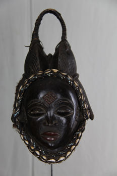 Dark okuyi face mask – PUNO - Gabon