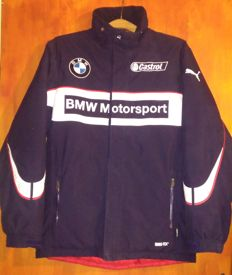 Puma - BMW personalised embroidered jacket. GORETEX insulated