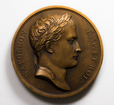 France - Medal  'Victoires de Napoléon 1807' by Andrieu and Denon - Bronze