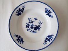 Porcelain from Tournai Belgium - Soup dish
