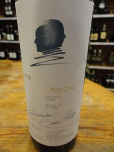 1998 Opus One, Napa Valley California - 1 bottle (75cl)