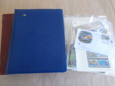 World 1940/2011 - lot in 2 volumes of thematic stamps, complete series mint or cancelled