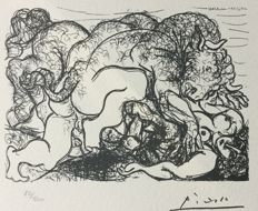 Pablo Picasso (after) - Suite Vollard , PLanche LXXXVII