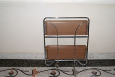 Bremshey Gerlinol - Folding vintage ´Dinett´ serving trolley