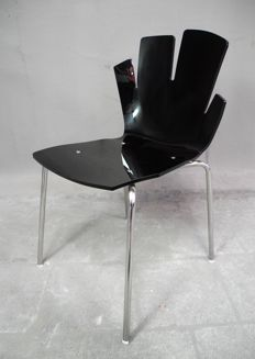 Designer unknown - modern and artistically designed chair