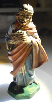 Statue of Wise King of Bible